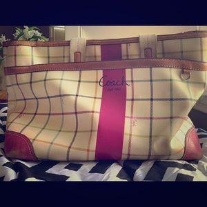 Coach Diaper Bag / large bag